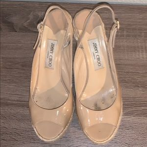 Jimmy Choo wedge sandals